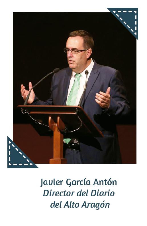 Javier García Antón Director del Diario del Alto Aragón