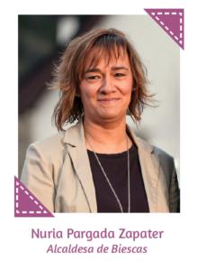 Nuria Pargada Zapater - Alcaldesa de Biescas