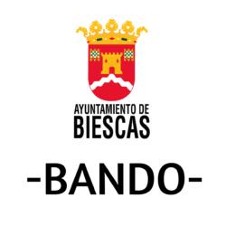 BANDO AYUNTAMIENTO DE BIESCAS
