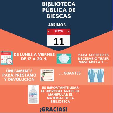 Apertura Biblioteca de Biescas